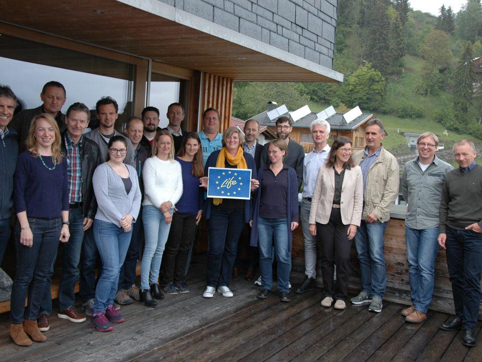 Mitarbeiter Foto beim Vernetzungstreffen in Lienz