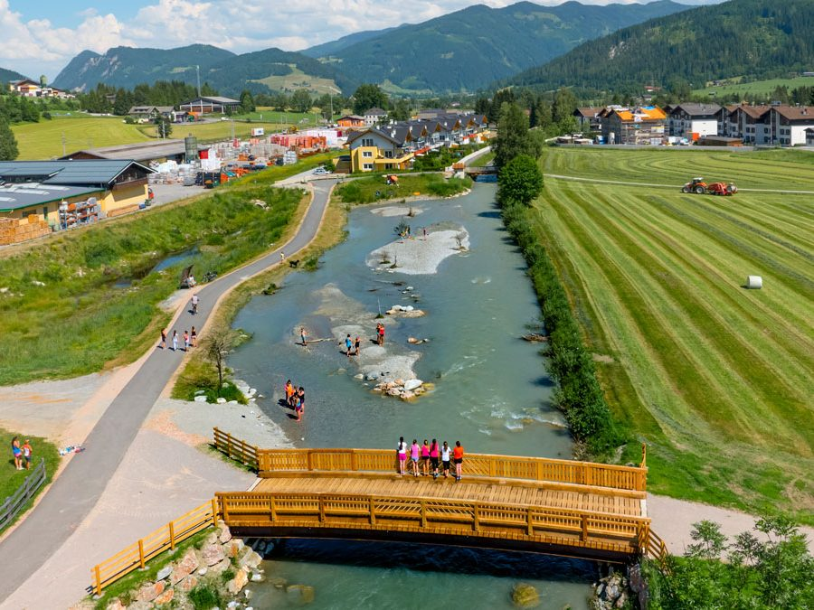 Projektgebiet Enns-Salzburg