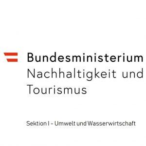 Logo vom Bundesministerium Nachhaltigkeit und Tourismus