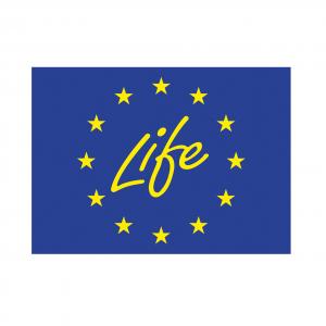 Logo Life, einem Förderprogramm der Europäischen Union