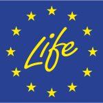 Projektpartner EU: Logo Life, einem Förderprogramm der Europäischen Union